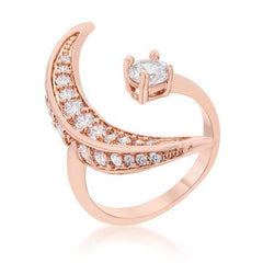 Rose Gold Night Sky Ring from Eternal Sparkles