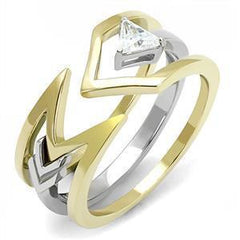 Eternal Sparkles Arrow Ring Set