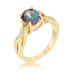 Eternal Sparkles Gold Galaxy Ring