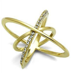 Gold Cosmic Ring from Eternal Sparkles