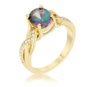Gold Galaxy Ring from Eternal Sparkles