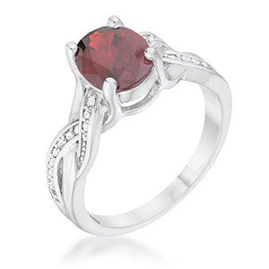 Ruby Red Ring from Eternal Sparkles