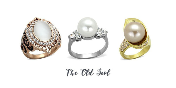 fashion rings from Eternal Sparkles for the old soul