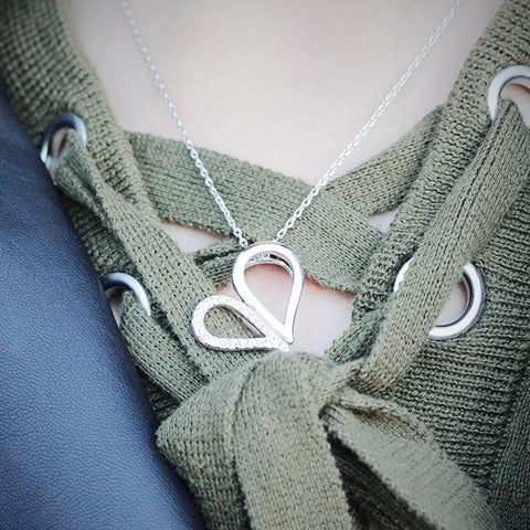 Locked Hearts Necklace