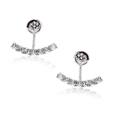 Jewel Stars Tassel Earrings