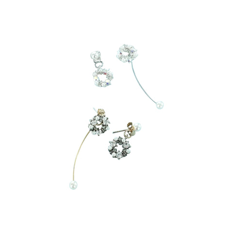 "Swarovski Elements 1.5"" Hoop Earrings"