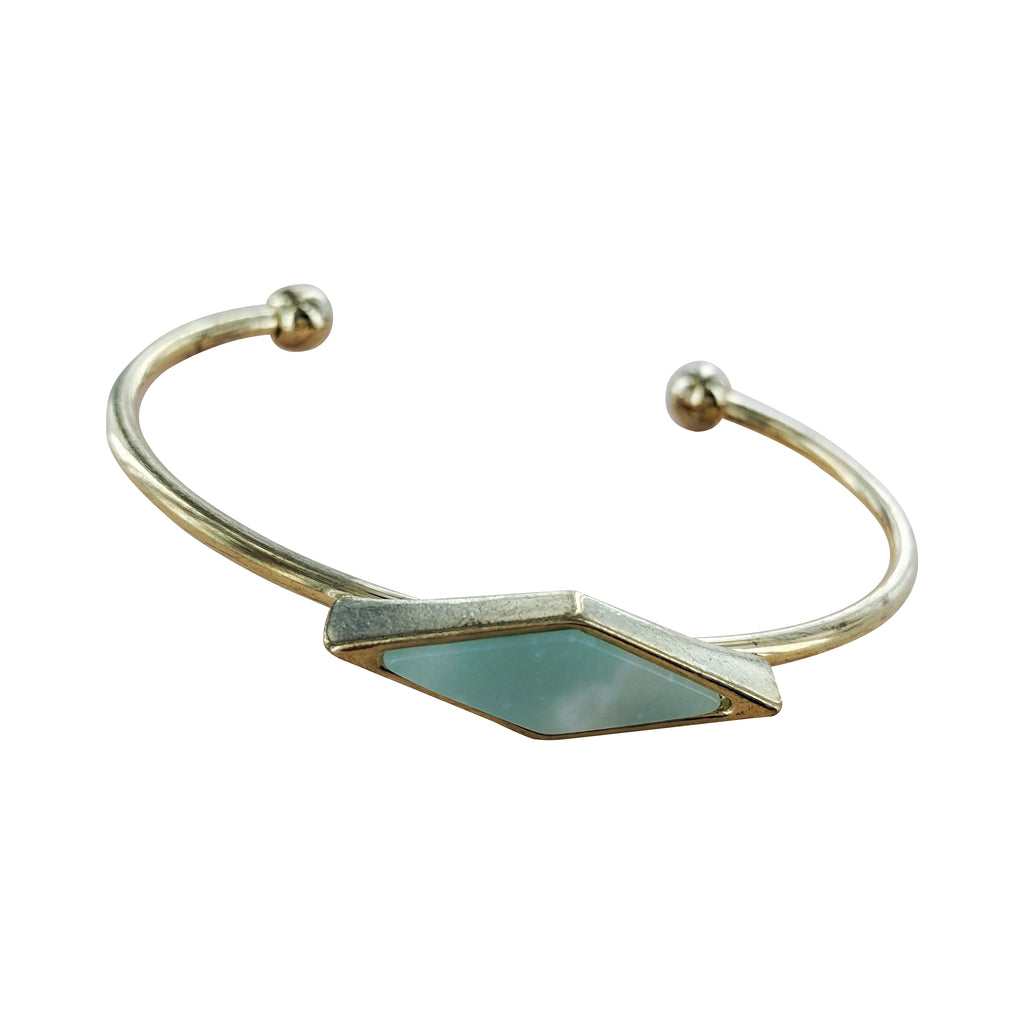 King of Diamonds Mint Stone Cuff
