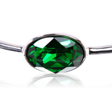 Green Crystal Swarovski Elements Bracelet