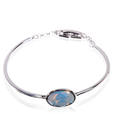 White Alabaster Swarovski Elements Petite Bracelet