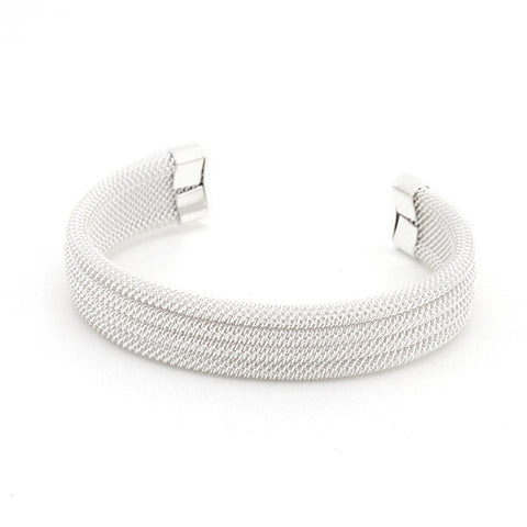 Winter Snow Cuff Bracelet