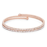 Infinite Rose Gold Wrap Bracelet