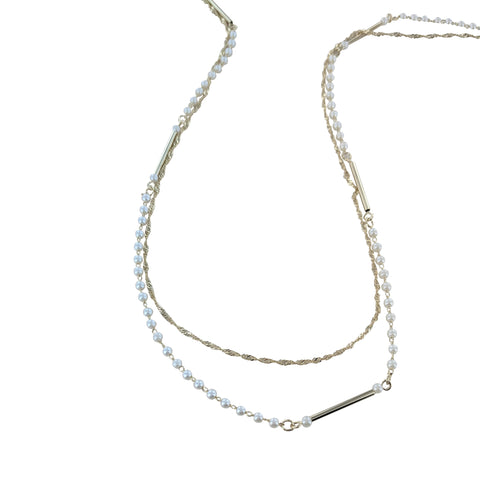 Keepsake Charm Pave Circle Necklace