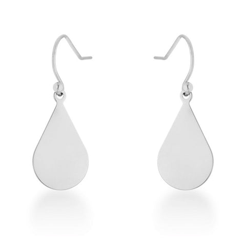 CZ Drop Peek-A-Boo Earrings