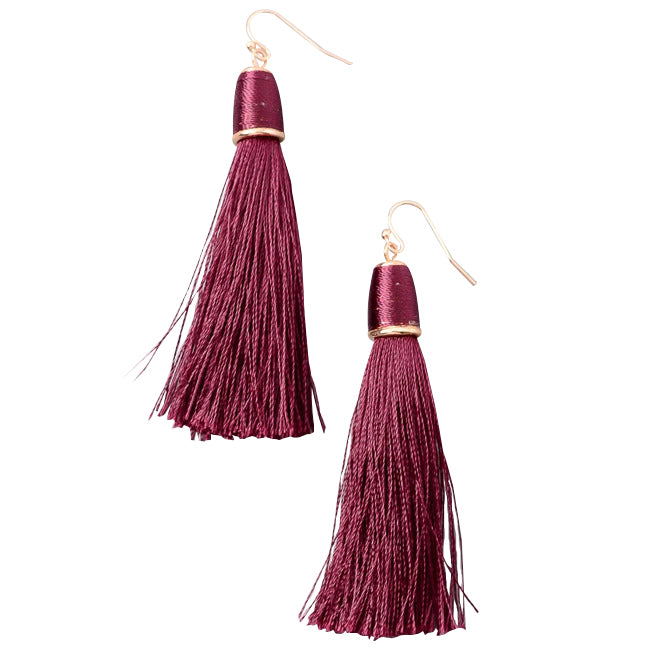 Classic Cord Tassel Earrings