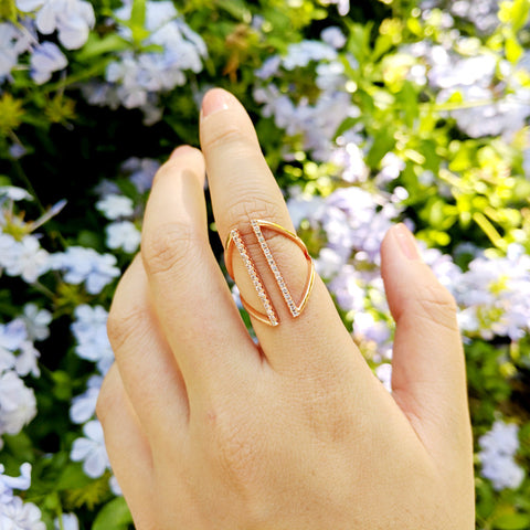 Dual Rose Gold Ring