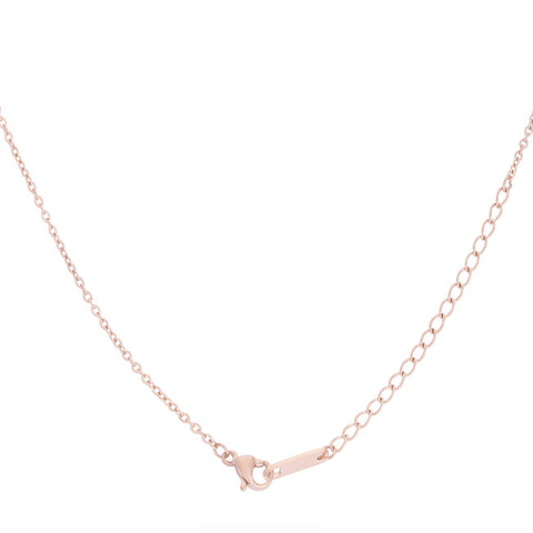 Rose Gold Arrow Necklace