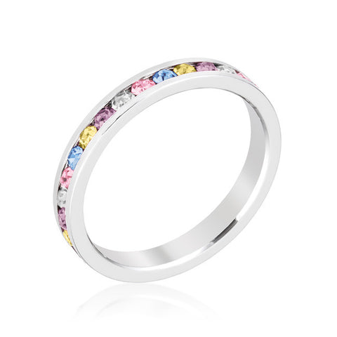 Opal and Jewels Stone Ring Set
