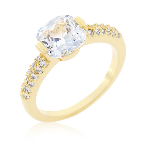 Vintage Inspired CZ Promise Ring