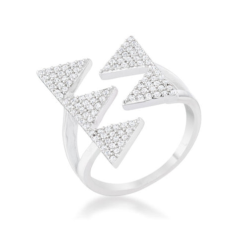Penta Triangle Ring