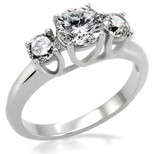 Trinity Round Engagement Ring
