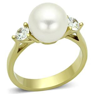 Glory Pearl & Gold Ring