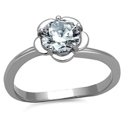 Radiant Round Engagement Ring