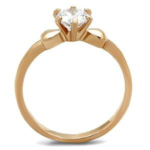 Royal Rose Gold Crystal Ring