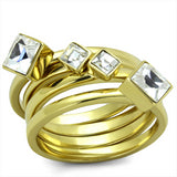 Sparkle & Ice Stacked Fashion Rings