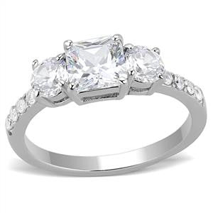 Regal CZ Eternity Band