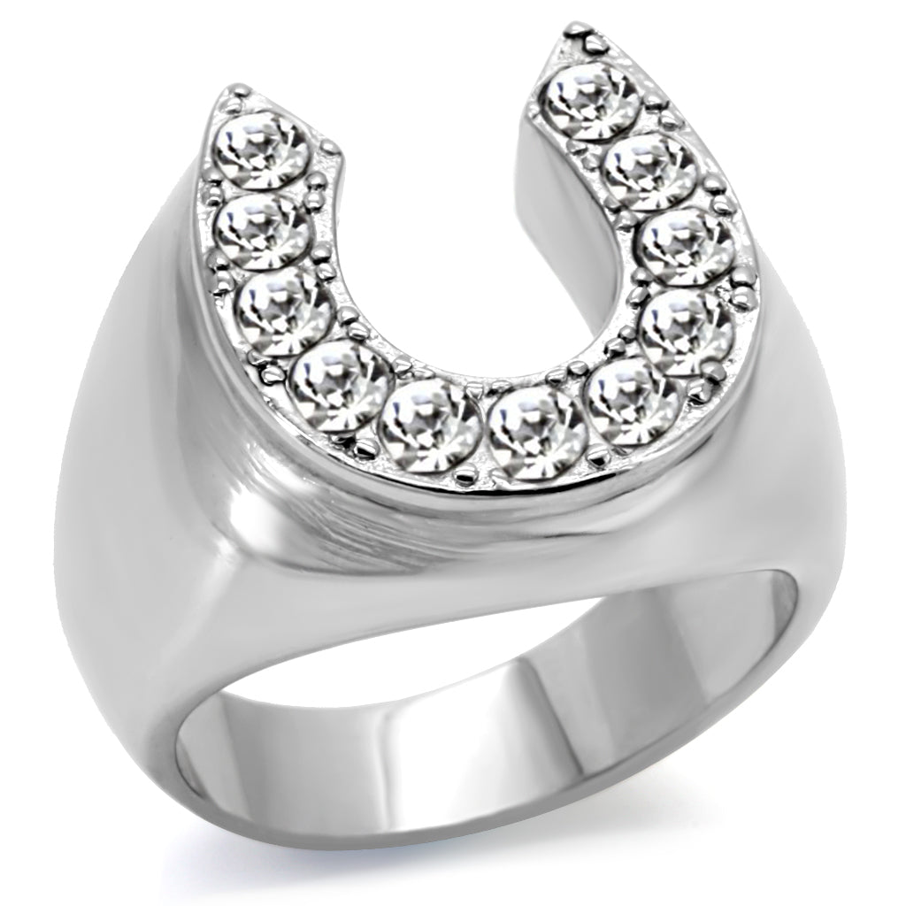 Horseshoe Statement Ring