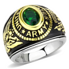 Men's Stainless Steel United States Army Military Ring