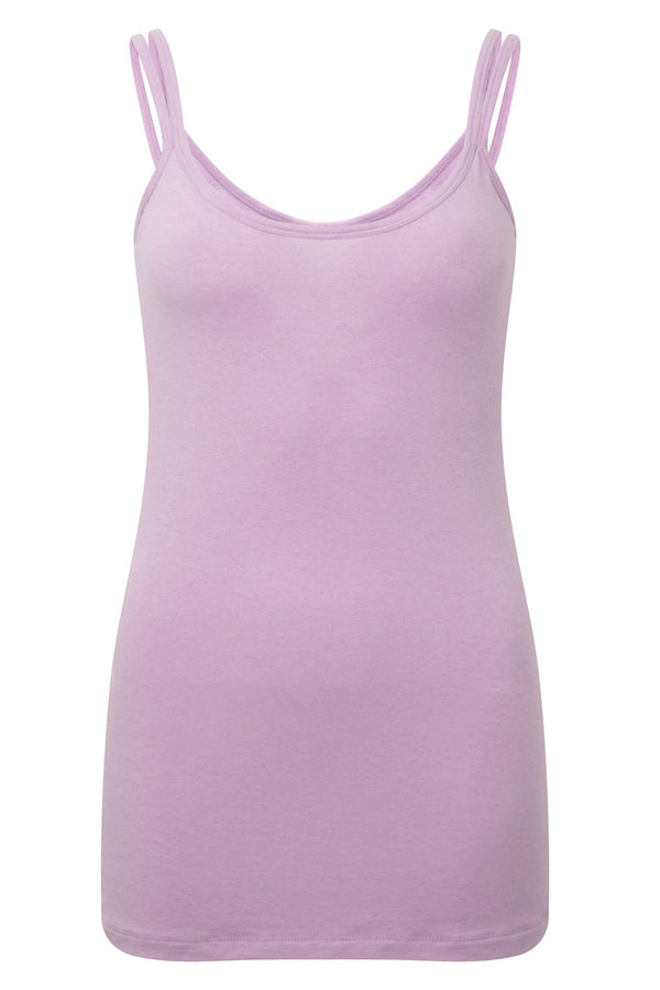 Stunning merino wool yoga vest top, in pretty pink, provides a superior sports lux feel. Natural and sustainable, Merino Wool's thermo regulatory properties keep you cool when it's hot, and warm when it's cool. Blended with cooling ECO friendly Lenzing TENCEL gives a softer hand feel.