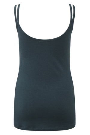 Stunning merino wool yoga vest top, in Teal Azure, provides a superior sports lux feel. Natural and sustainable, Merino Wool's thermo regulatory properties keep you cool when it's hot, and warm when it's cool. Blended with cooling ECO friendly Lenzing TENCEL gives a softer hand feel.