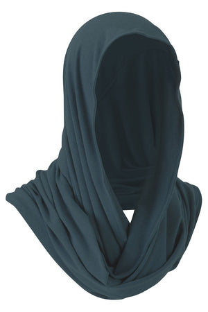 Merino Wool Snood - Teal Azure