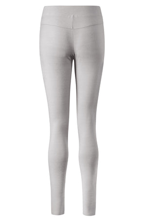 Merino Leggings Silver Mist Grey