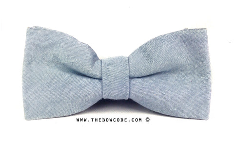 Light Blue Bow Tie Singapore