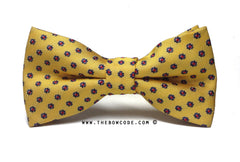 Cheese Yellow Bow Tie