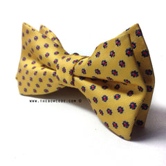 Cheese Shirt and Suit Bow Tie