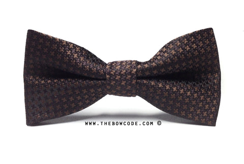 Dark Brown Bow Tie Singapore