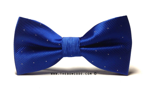 Electric Blue Bow Tie
