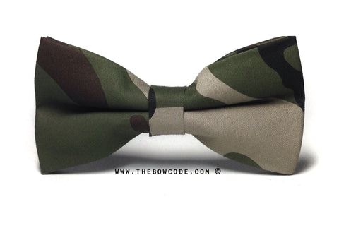 Camo Fashion Bow Tie Singapore