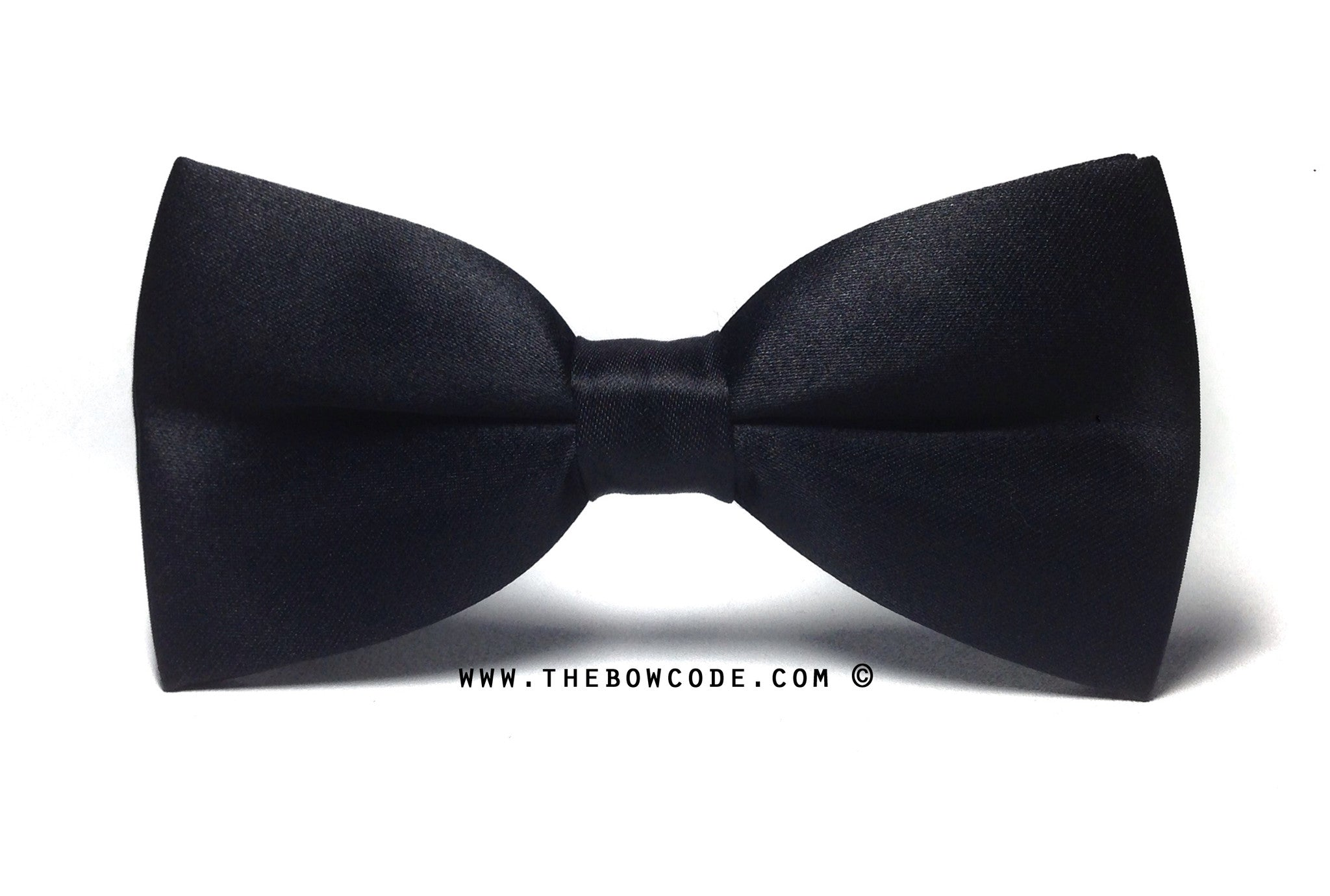 Black Classic Bow Ties Singapore