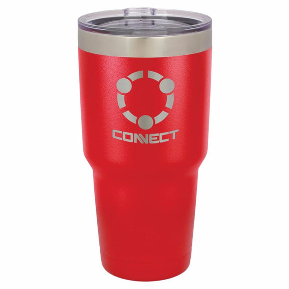 Polar Camel 30 oz. Matte Vacuum Insulated Tumbler w/Clear Lid