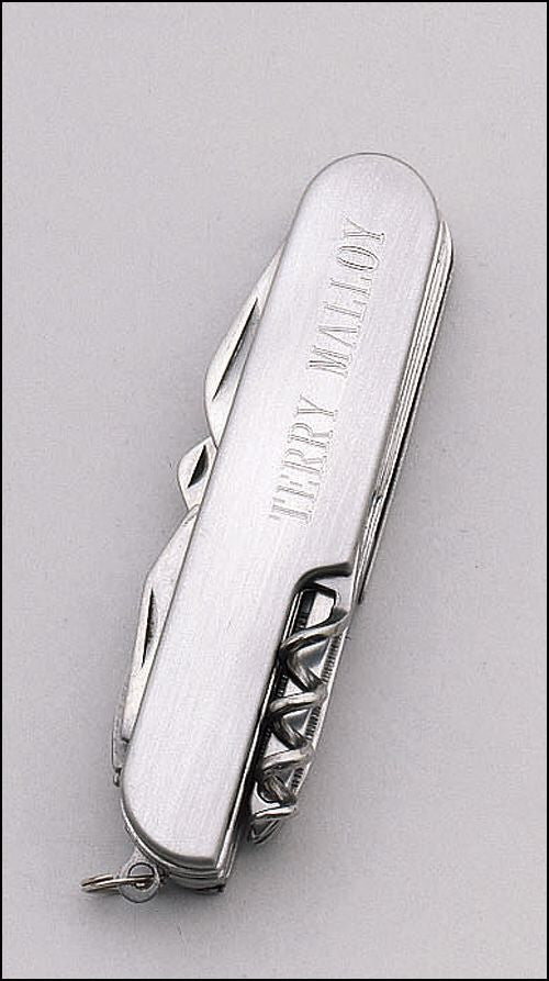 11 Function Pocket Knife-Engravable - On Course