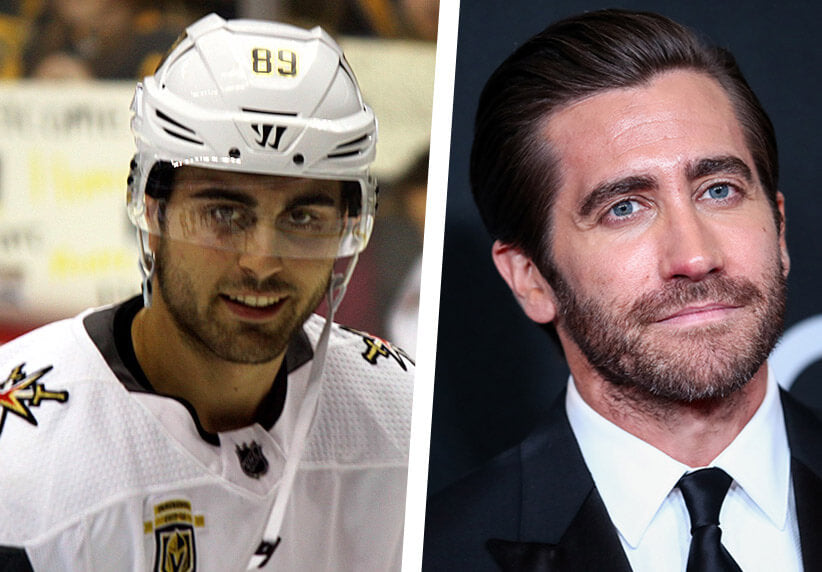 Alex Tuch and Jake Gyllenhaal