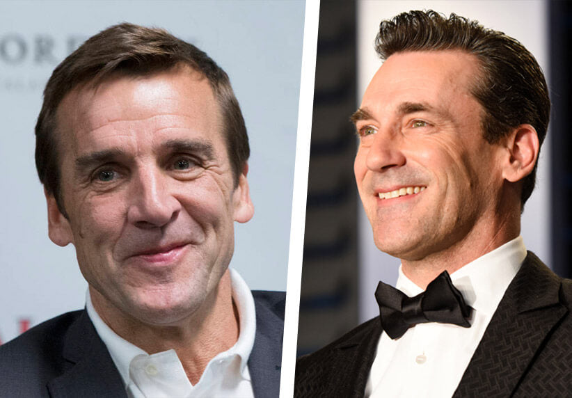 George McPhee and Jon Hamm