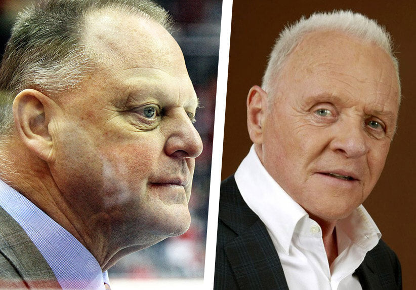 Gerard Gallant and Anthony Hopkins