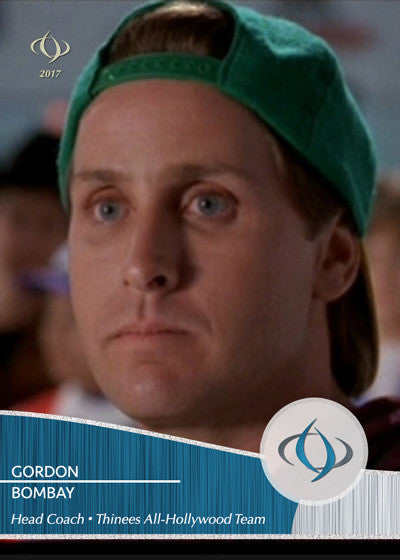 The famous Disney hockey coach Gordon Bombay is the head coach for the All-Hollywood team
