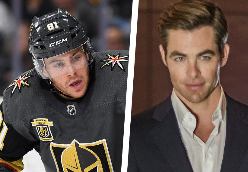 Jonathan Marchessault and Chris Pine