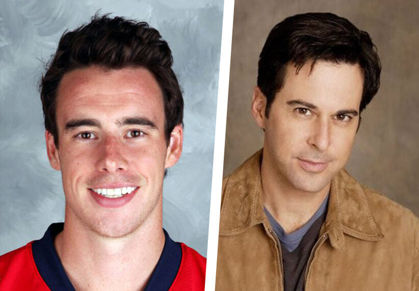 Reilly Smith and Jonathan Silverman